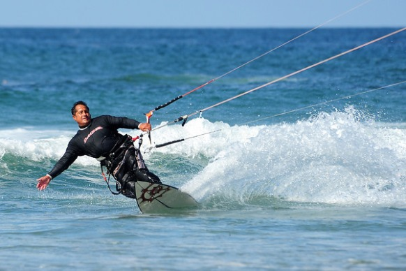 Kite Surfing Photos