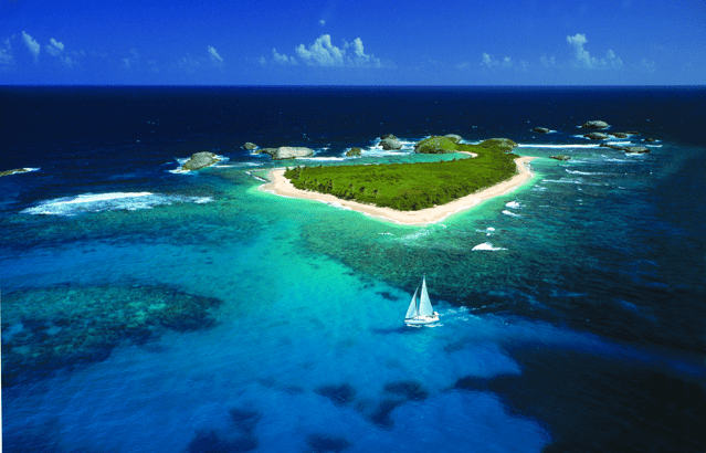 One Of The Gorgeous Islands Just Off The Coast Of Fajardo. Courtesy Of Seepuertorico.com