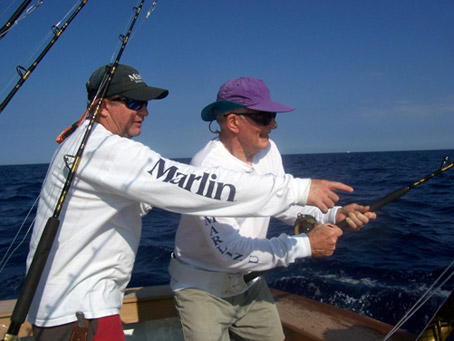 Marlin Fishing School