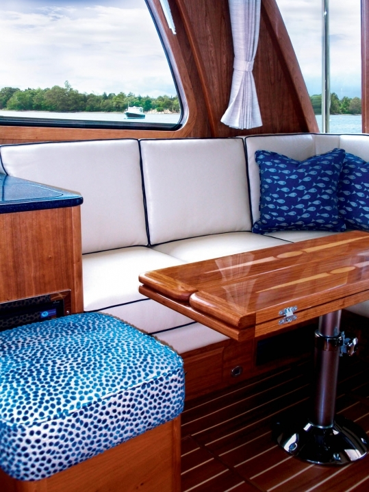 In Style Boat Interiors
