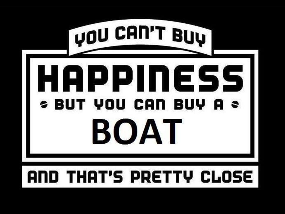 Boat Saying