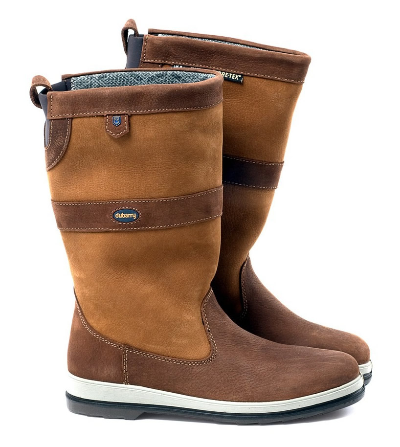 Dubarry Ultima Goretex Sailing Boot Brown Leather 1