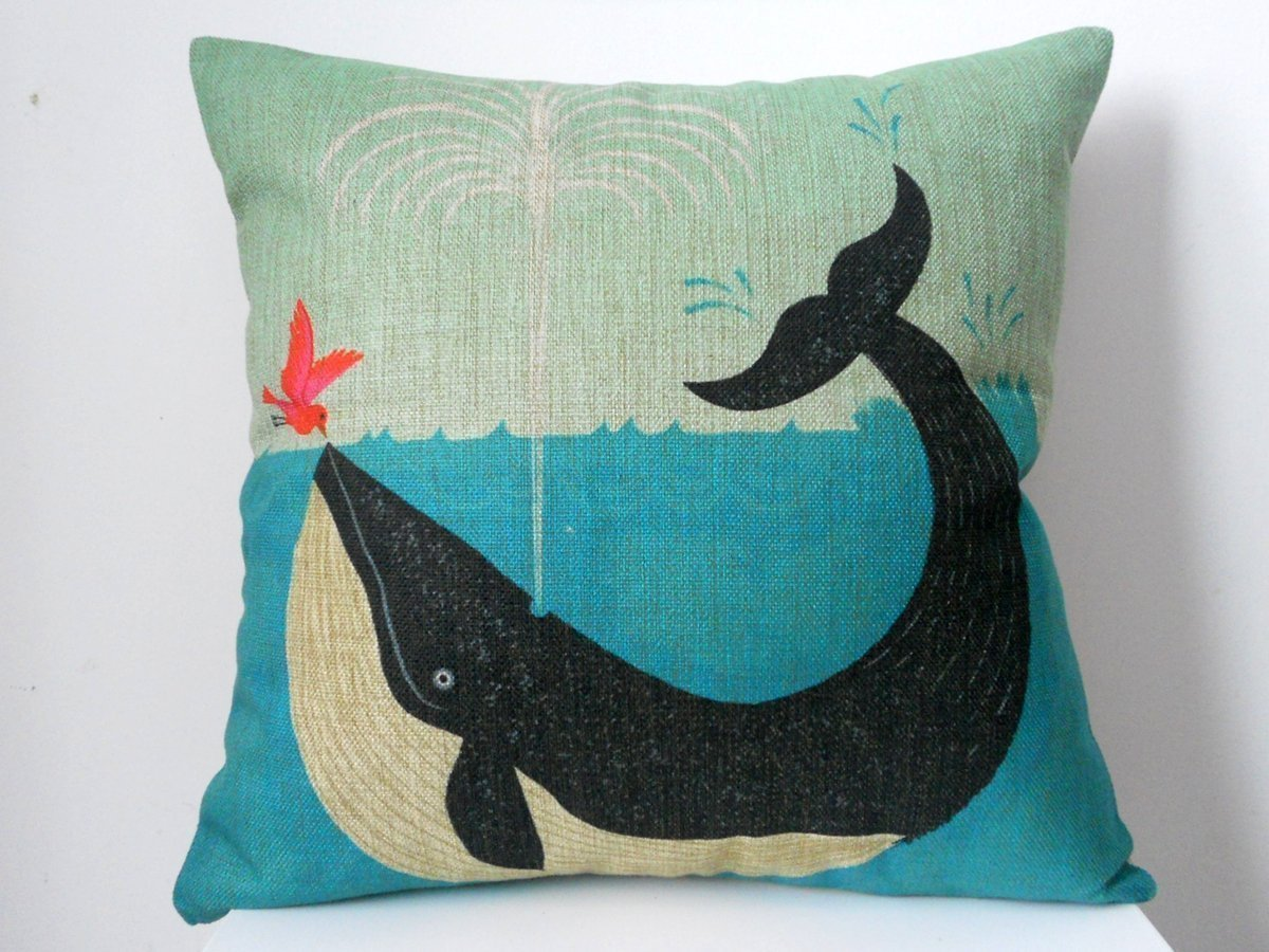 Vintage Nautical Pillow
