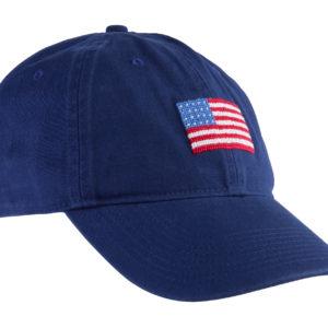 Needlepoint America Hat