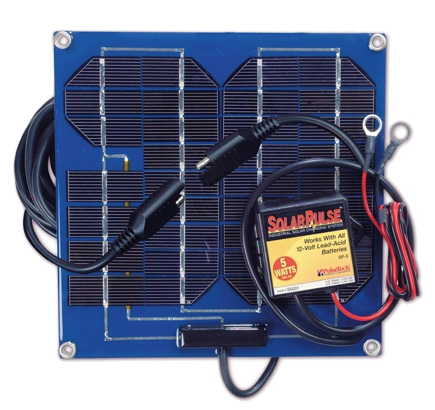 Solar Battery Charger For Boat